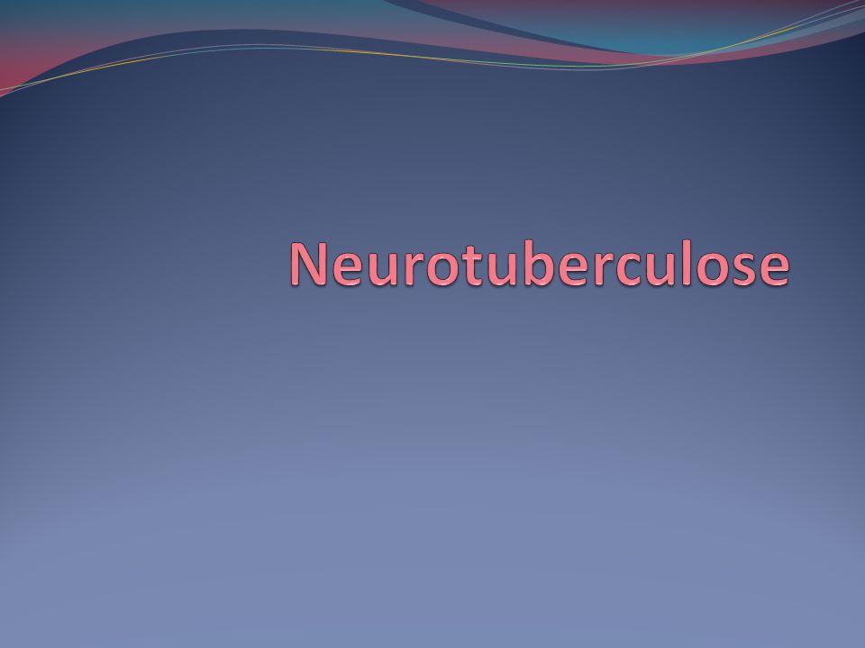 Estudo do Liquor Proteína elevada 100-500 mg/dL Até 6g/dL em pacientes com bloqueio subaracnoideo Glicose baixa <45 mg/dL Linfocitose 100-500 células/microL Inicio do quadro baixa contagem de células com predomínio de PMN Após inicio do tratamento há nova inversão ara predomínio de PMN Cloro < 100 mg/dL ADA > 6 u/L Thwaites GE, Chau T T, Stepniewska K, Phu NH et al.