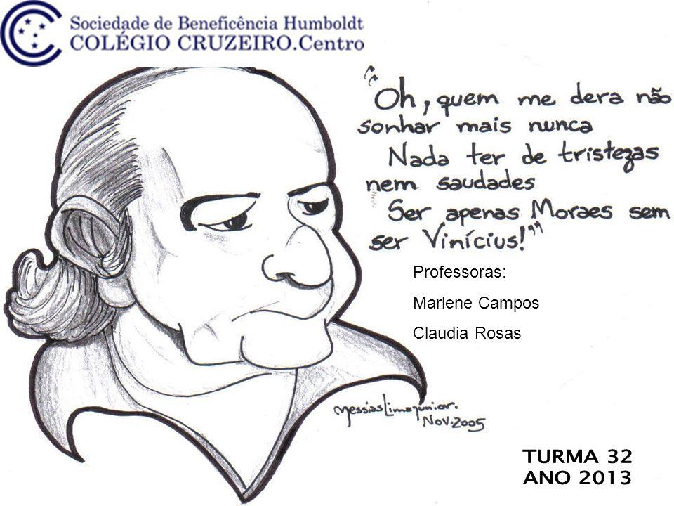 Professoras: Marlene Campos Claudia Rosas