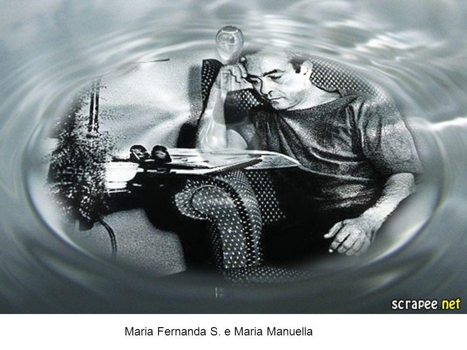 Maria Fernanda S. e Maria Manuella Estou vivo mas não tenho corpo Por isso é que não tenho forma Peso eu também não tenho, Não tenho cor. Estou vivo m