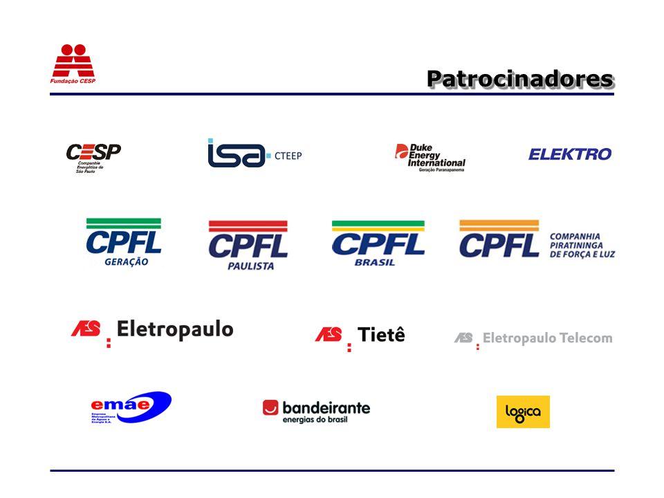 Quem Somos Com um patrimônio estimado de R$ 14 bilhões de reais, a Fundação CESP é o maior fundo de pensão do pais, patrocinado por empresas privadas.