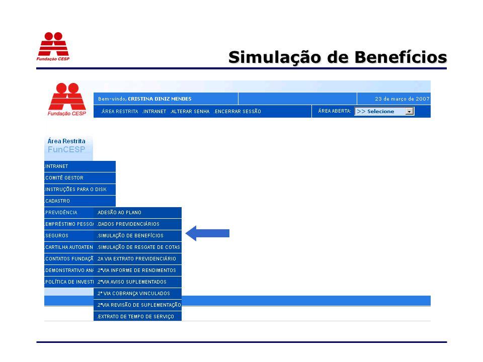 Simulação de Benefícios