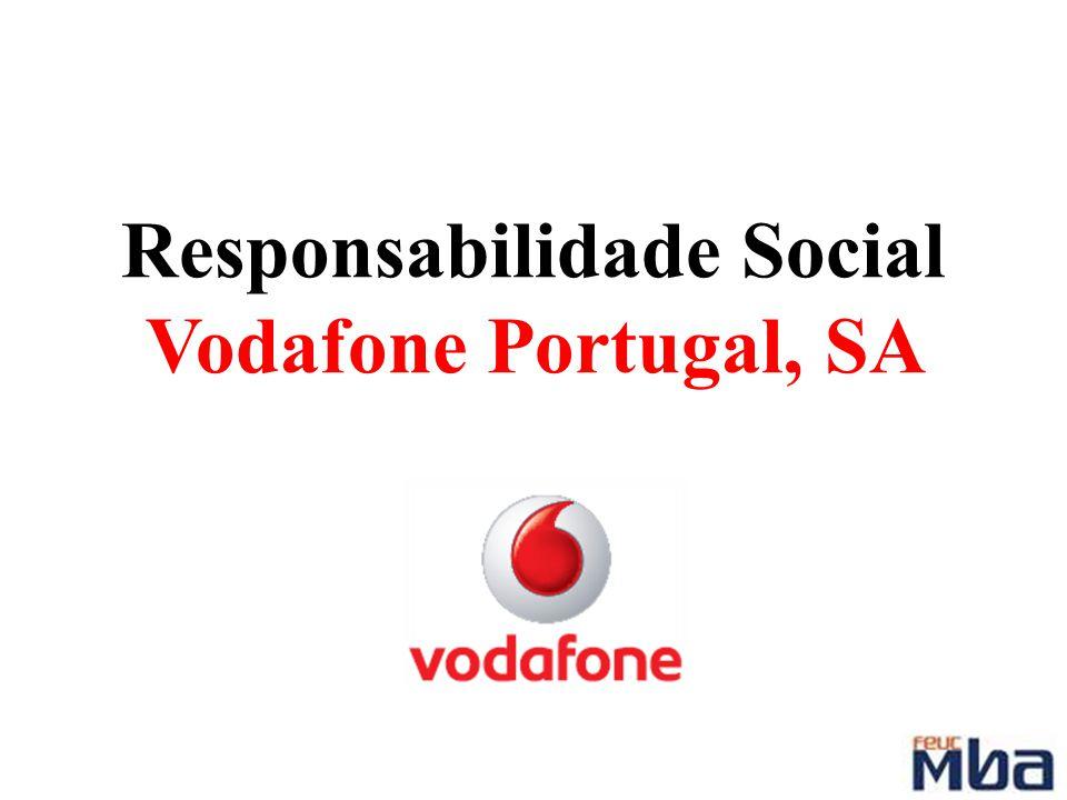 Responsabilidade Social Vodafone Portugal, SA