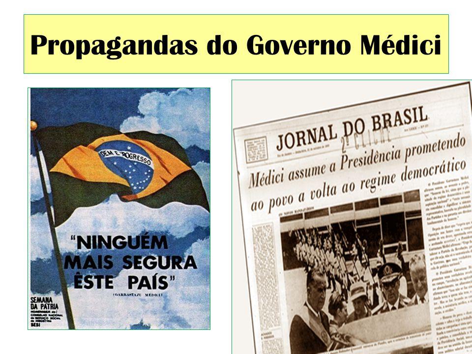 Propagandas do Governo Médici