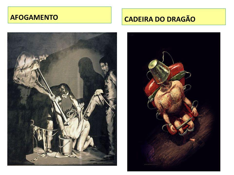 AFOGAMENTO CADEIRA DO DRAGÃO