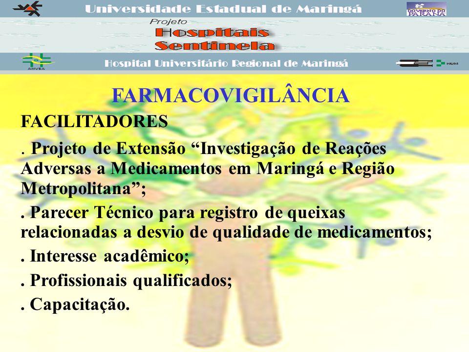 FARMACOVIGILÂNCIA FACILITADORES.