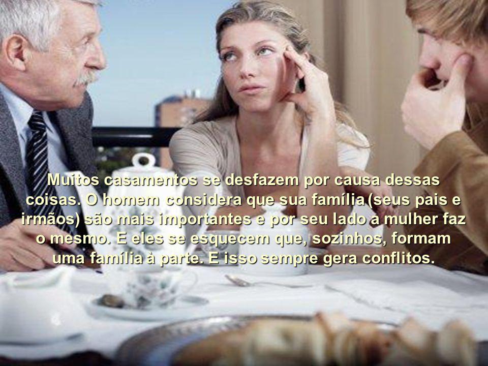 Os filhos são educados muitas vezes com forte influência dos avós e todo mundo acha isso muito natural.
