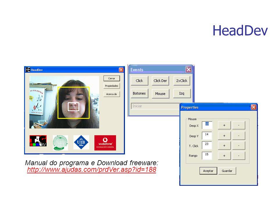 HeadDev Manual do programa e Download freeware: http://www.ajudas.com/prdVer.asp?id=188 http://www.ajudas.com/prdVer.asp?id=188