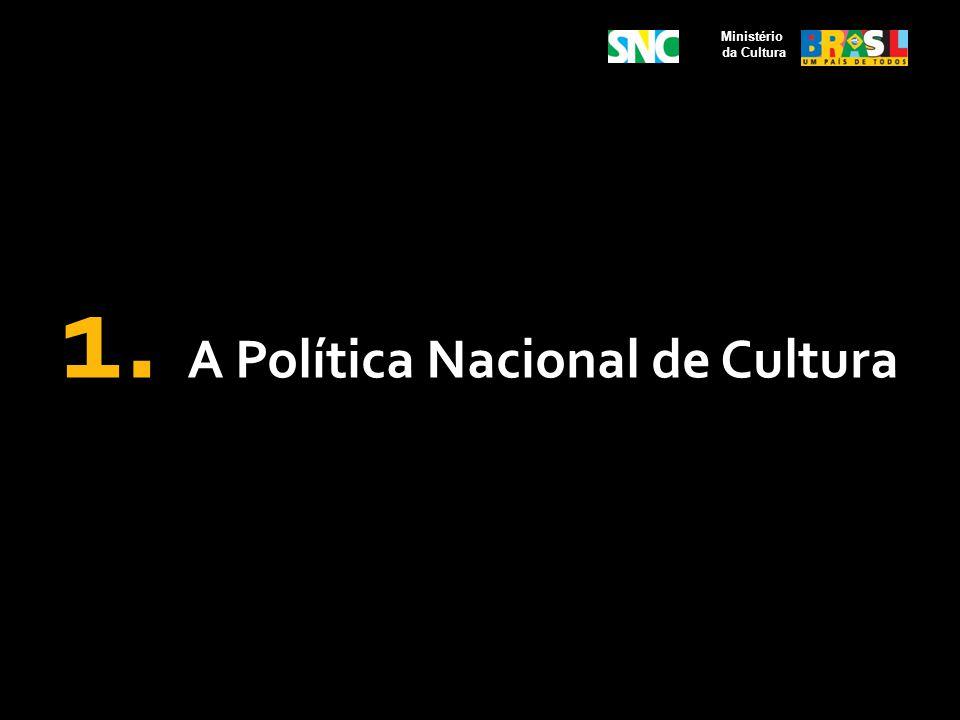Obrigações do Ministério da Cultura Acompanhar a execução de programas e projetos culturais, no âmbito do SNC; Fomentar e regulamentar a constituição de sistemas setoriais nacionais de cultura; Fomentar, no que couber, a integração/consorciamento de Estados e Municípios para a promoção de metas culturais; Designar formalmente um responsável pelo acompanhamento dos compromissos decorrentes do pactuado neste Acordo e em seus Planos de Trabalhos.