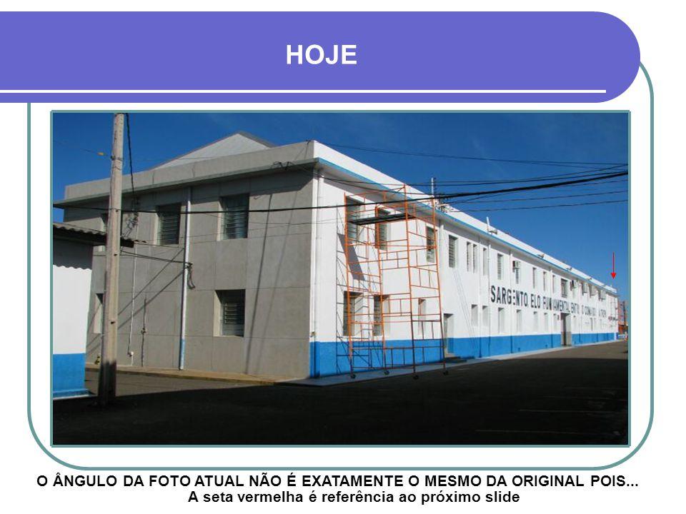PARTE DE TRÁS DO EDIFÍCIO PAVILHÃO CENTRAL 8º R.I. - EM CONSTRUÇÃO
