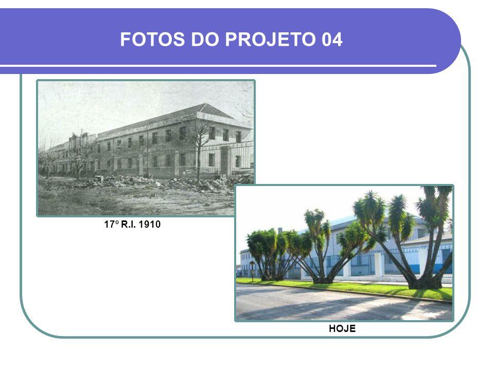 17º R.I. 1942 FOTOS DO PROJETO 02 HOJE