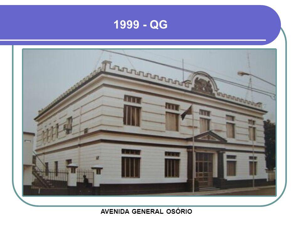 1925 - QG FOI INAUGURADO EM 22 DE SETEMBRO DE 1922, NO CENTENÁRIO DA INDEPENDÊNCIA DO BRASIL
