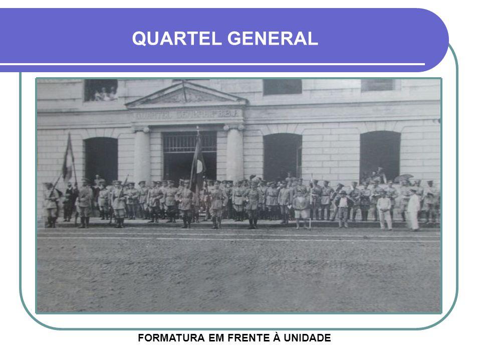 HOJE O PRIMEIRO COMANDANTE FOI O GENERAL FÁBRIO AZAMBUJA