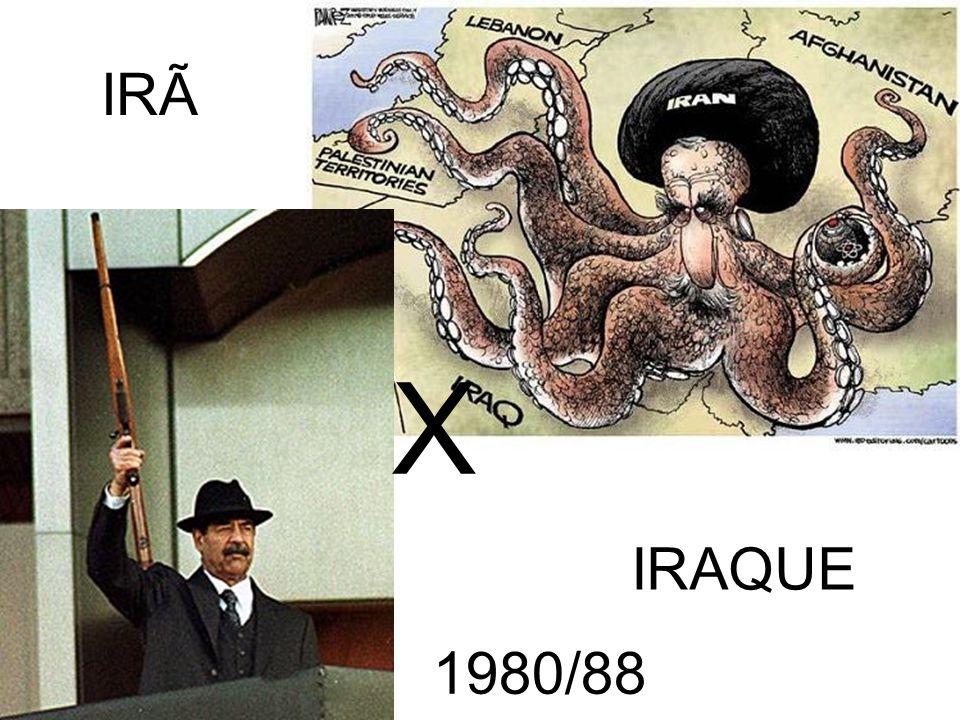 IRÃ IRAQUE X 1980/88