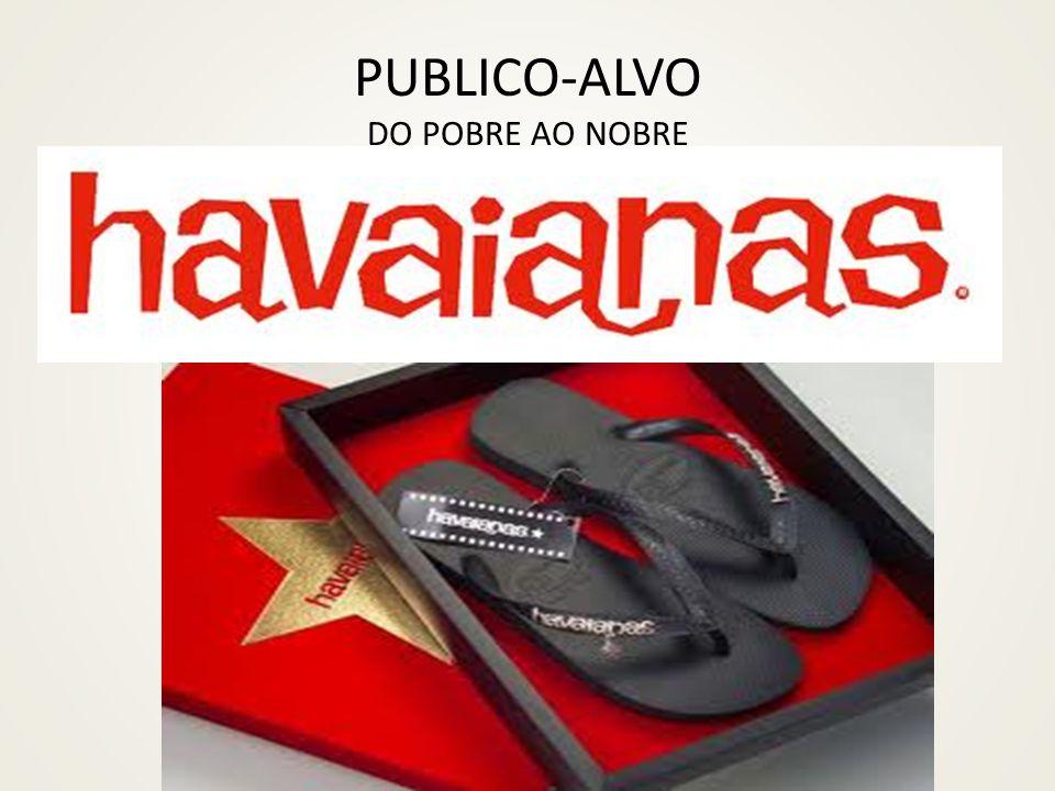 PUBLICO-ALVO DO POBRE AO NOBRE