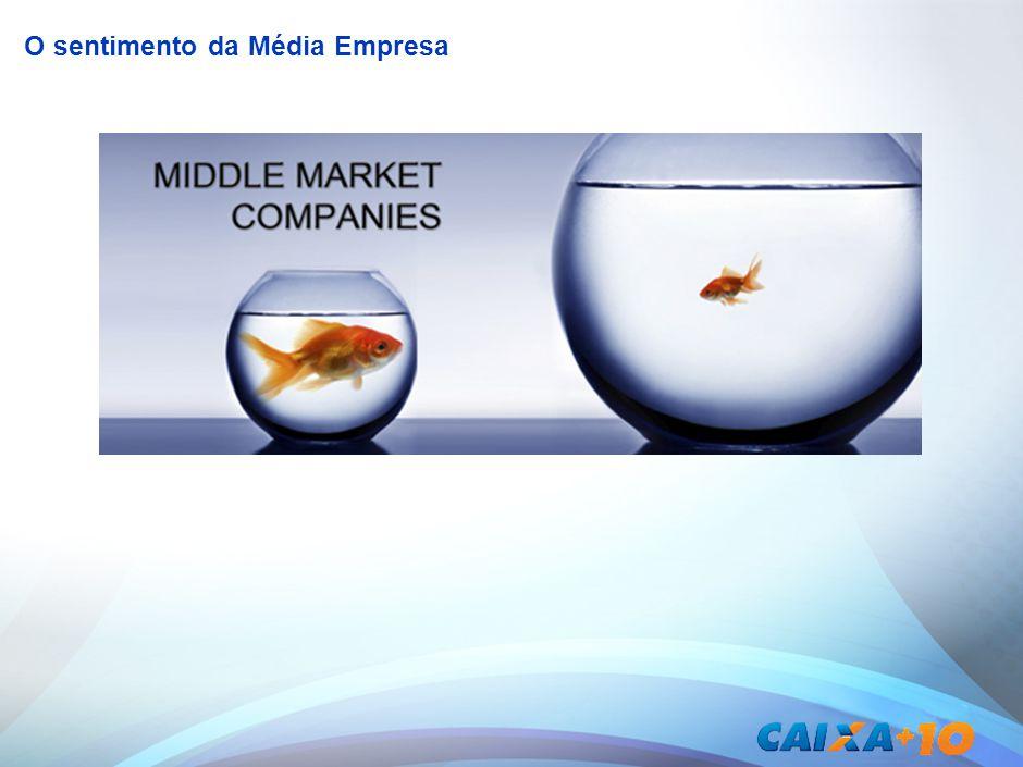 O sentimento da Média Empresa