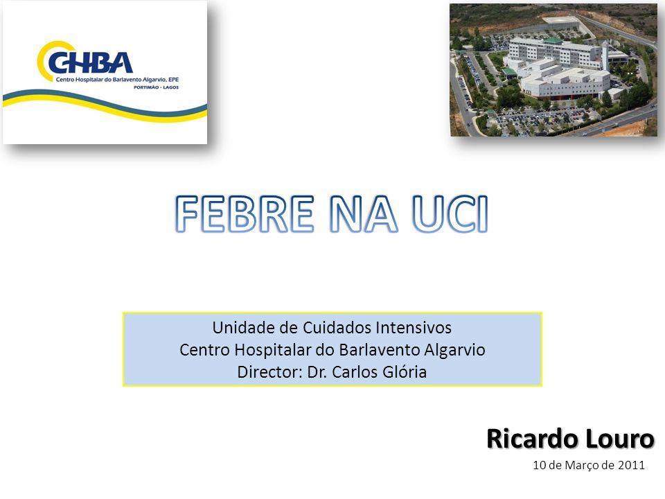 Ricardo Louro Unidade de Cuidados Intensivos Centro Hospitalar do Barlavento Algarvio Director: Dr. Carlos Glória 10 de Março de 2011