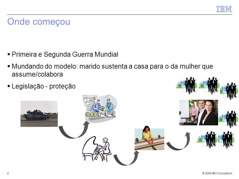 © 2009 IBM Corporation Outro mundo? 3