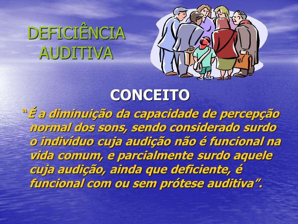 SUGESTÕES NO TRATO COM O DV EXAGERE NA VERBALIZAÇÃO EXAGERE NA VERBALIZAÇÃO ESTEJA SEMPRE ATENTO A POSTURA ESTEJA SEMPRE ATENTO A POSTURA INCENTIVE O MOVIMENTO INCENTIVE O MOVIMENTO TRABALHE FLEXIBILIDADE E CORRIDAS TRABALHE FLEXIBILIDADE E CORRIDAS MANTENHA AMBIENTE COM CORES CONTRASTANTES MANTENHA AMBIENTE COM CORES CONTRASTANTES NÃO MUDE AS COISAS DO LUGAR NÃO MUDE AS COISAS DO LUGAR AJUDE O ALUNO A CRIAR SEU MAPA COGNITIVO E TRABALHE COM TODOS OS SENTIDOS AJUDE O ALUNO A CRIAR SEU MAPA COGNITIVO E TRABALHE COM TODOS OS SENTIDOS VERIFIQUE A BAGAGEM QUE O ALUNO POSSUI VERIFIQUE A BAGAGEM QUE O ALUNO POSSUI TRABALHE COM PISTAS AUDITIVAS TRABALHE COM PISTAS AUDITIVAS VERIFIQUE ATIVIDADES CONTRA-INDICADAS VERIFIQUE ATIVIDADES CONTRA-INDICADAS