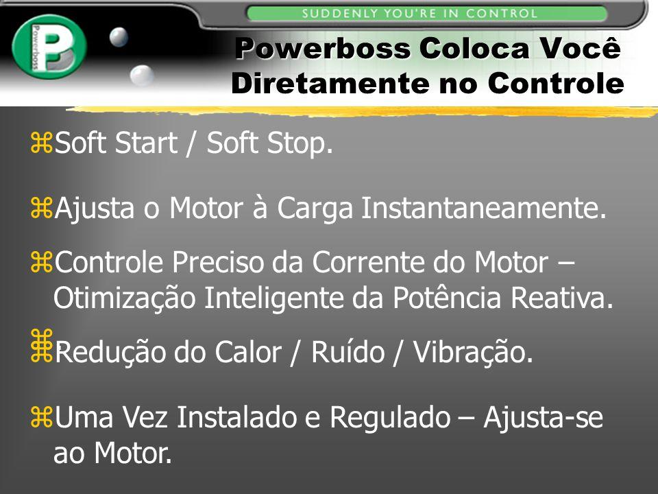 zAjusta o Motor à Carga Instantaneamente. zControle Preciso da Corrente do Motor – Otimização Inteligente da Potência Reativa. z. zUma Vez Instalado e