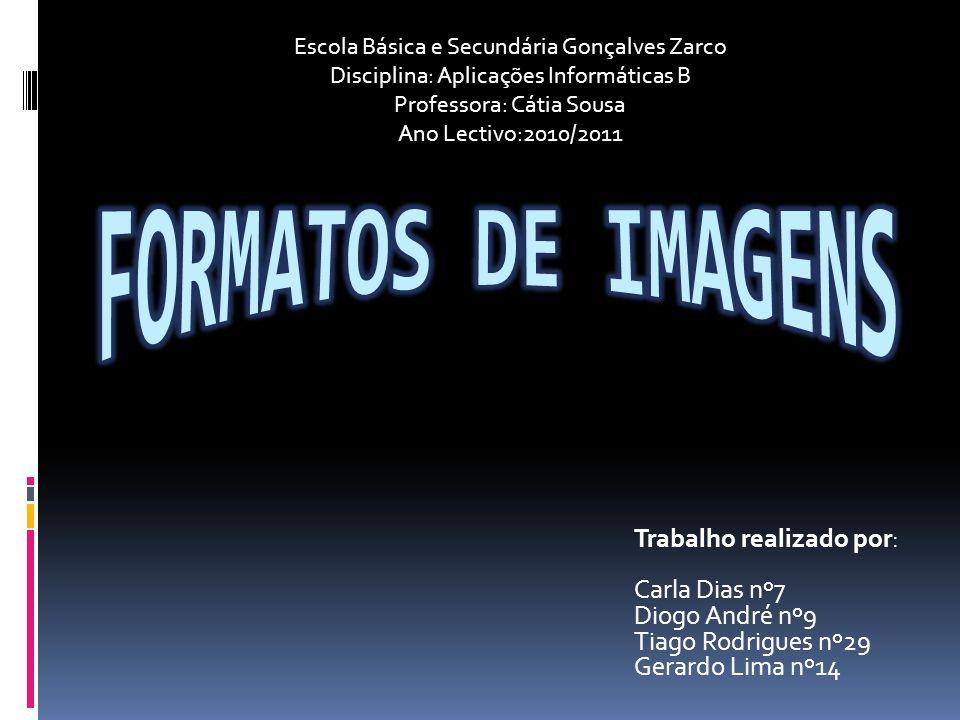 Introdução Formatos de imagens Utilizar imagens em computador é algo rotineiro e comum a várias actividades.
