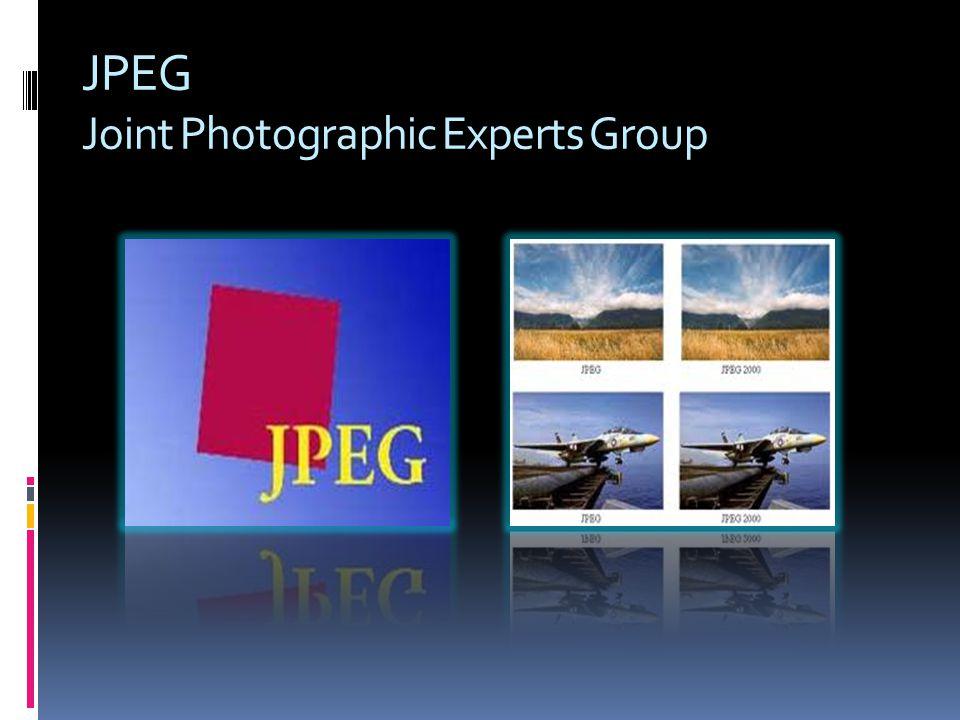 Na internet, são comuns os formatos JPEG.