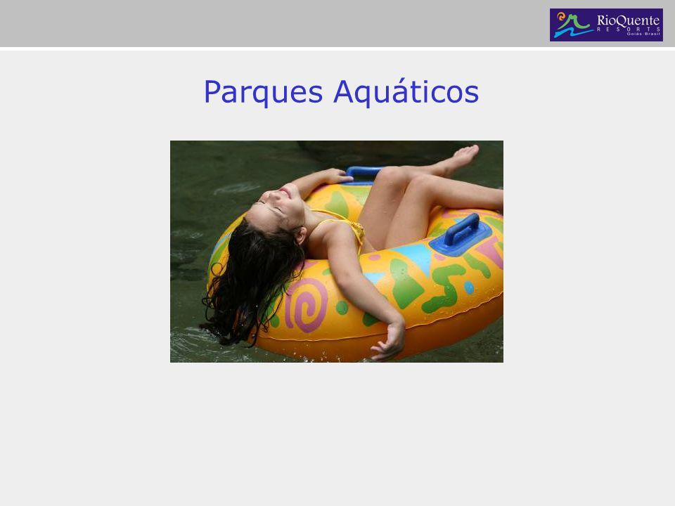 Parque das Fontes Piscinas renovadas 24h a cada 20 minutos 8 piscinas naturais de água corrente Duchas e poços termais Bares aquáticos e saunas 24h.