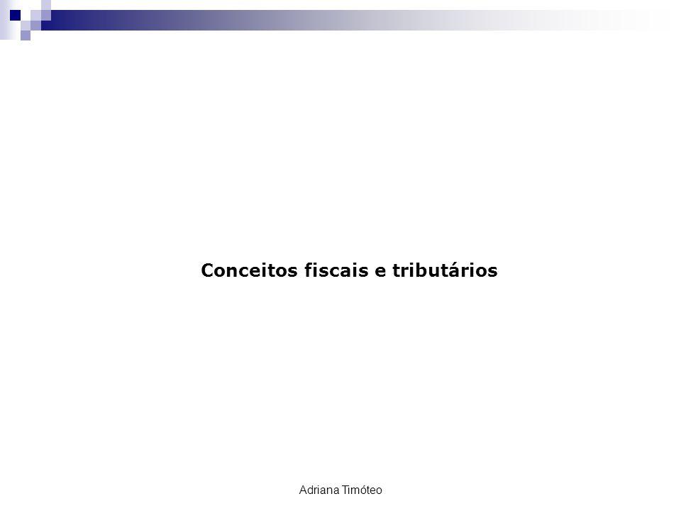 RETENÇÃO TRIBUTÁRIA Conceitos fiscais e tributários Adriana Timóteo