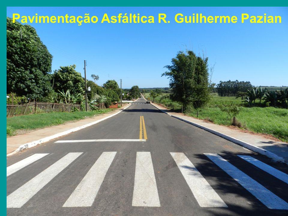 Pavimentação Asfáltica R. Guilherme Pazian