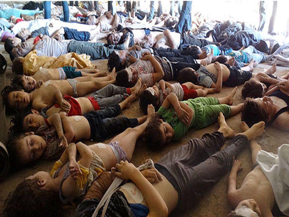 Uma vergonha global o que está acontecendo na Síria.
