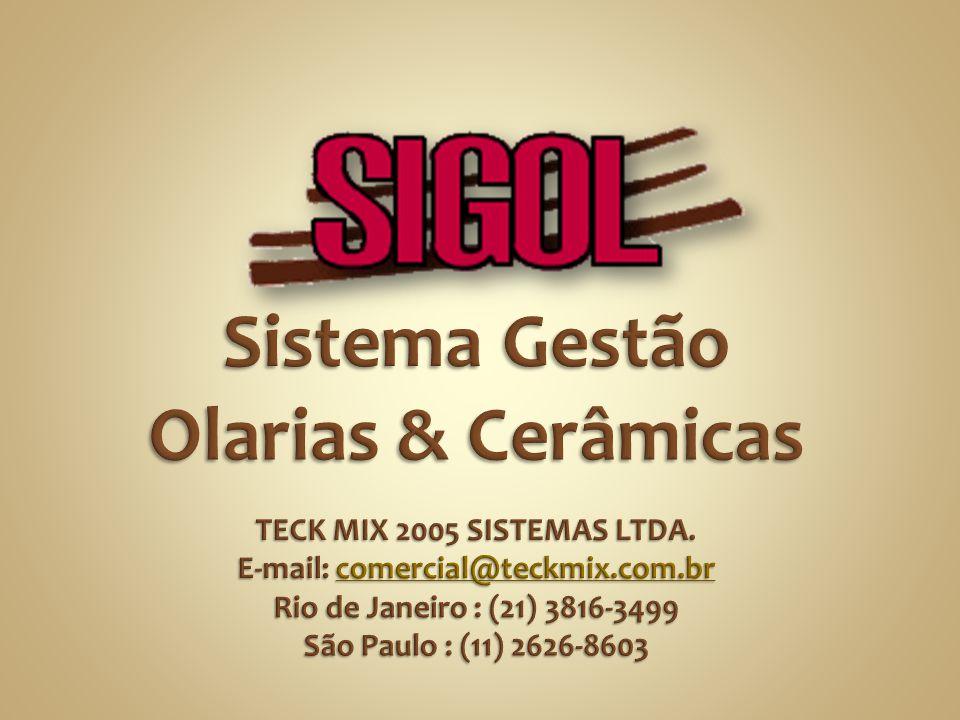 Você vai assistir agora uma apresentação do sistema : SIGOL – Sistema Gestão Olarias & Cerâmicas. O SIGOL gerencia de forma simples as VENDAS, ENTREGA
