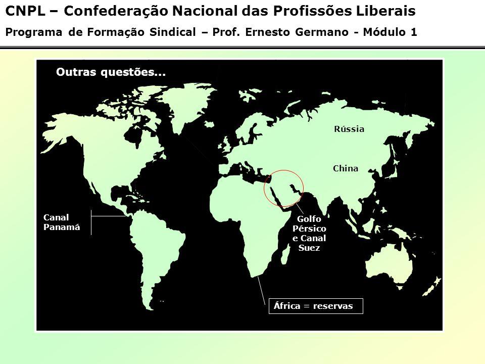 Os Blocos Econômicos 05 - Mercosul CNPL – Confederação Nacional das Profissões Liberais Programa de Formação Sindical – Prof.