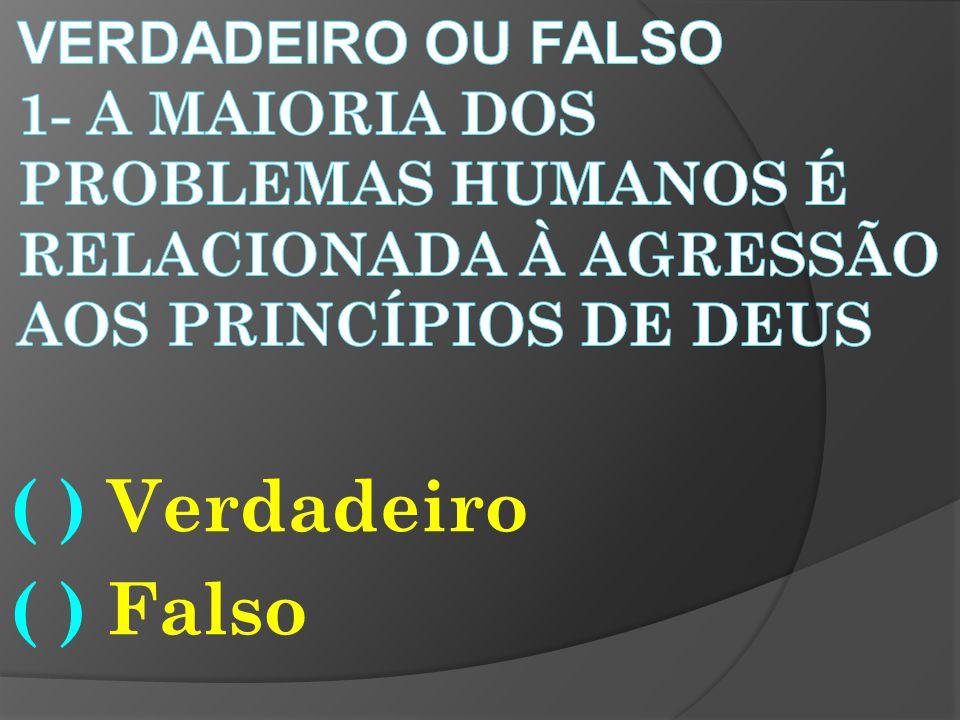 (X) FALSO