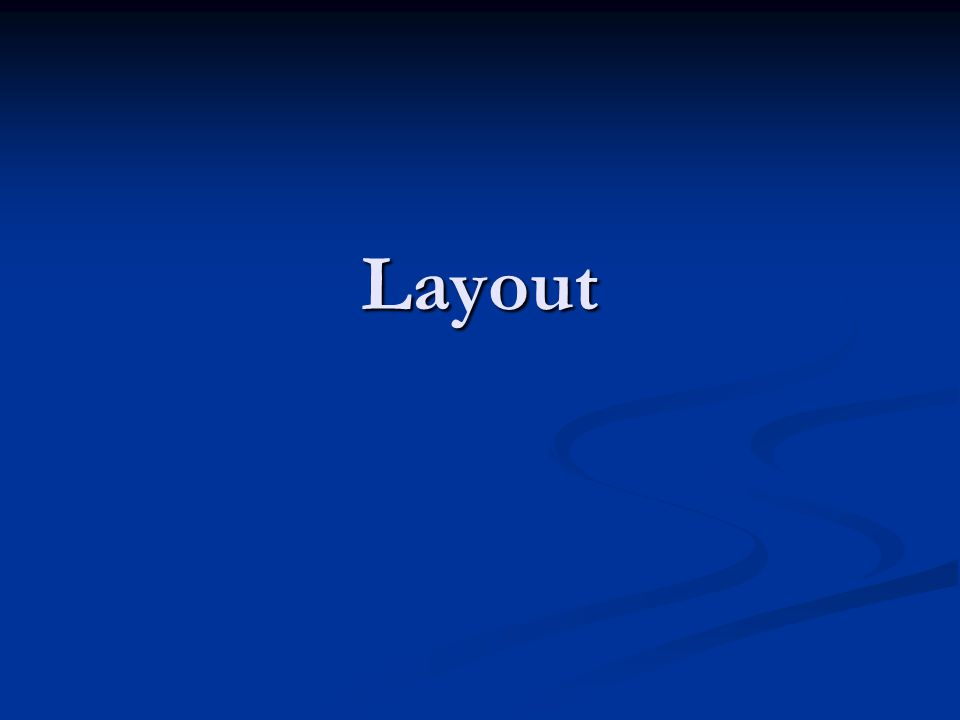 Layout Avançado (Tela) Instruções gerais.Link para editar a parte desejada.