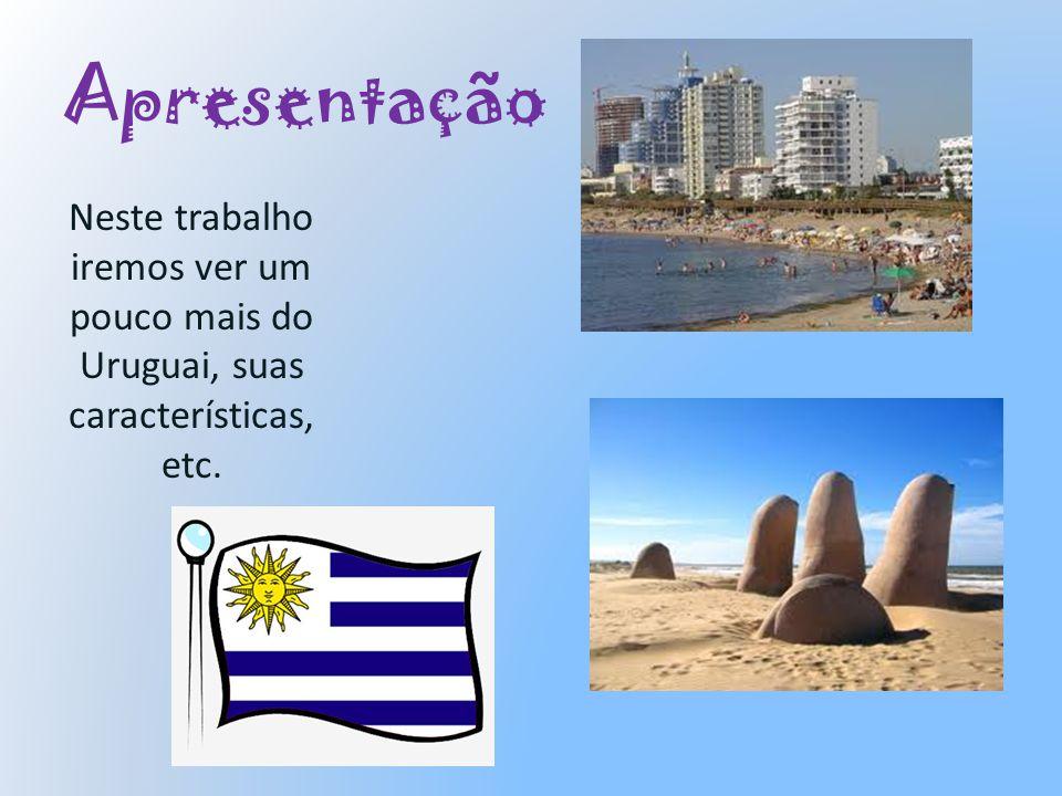 Setor de Economia A economia do Uruguai é baseada principalmente no setor agropecuário, sendo que exportação é o principal destino desses produtos.