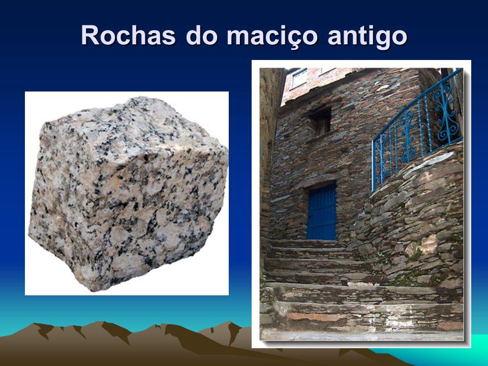 Rochas do maciço antigo