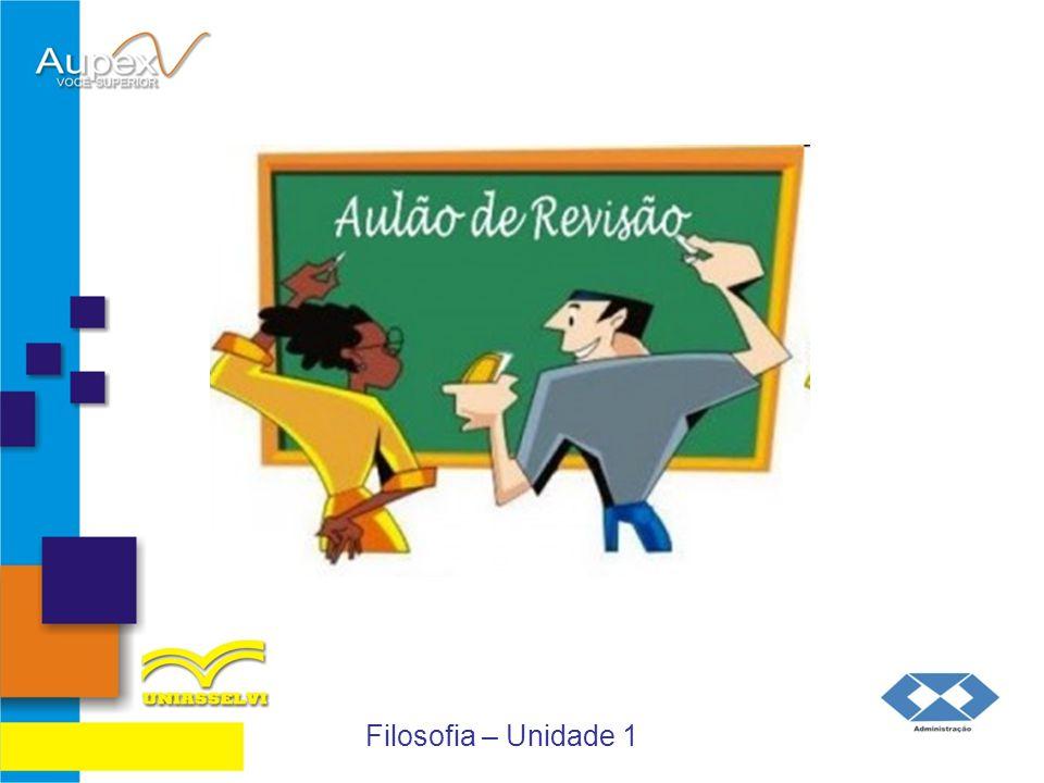 Educação a Distância – EaD Professor: Flávio Brustoloni Filosofia