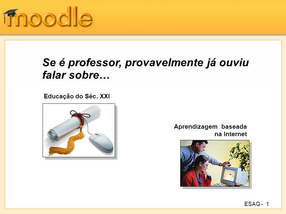 ESAG -2 Introdução ao Moodle.