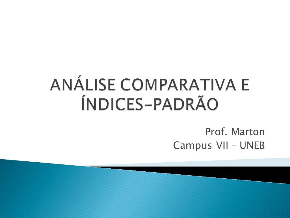 Para Matarazzo (2003, p.187) algumas técnicas estatísticas podem ser usadas na análise das demonstrações contábeis de forma que se possa comparar o desempenho de uma empresa com o de 100, 1.000 ou mais empresas.
