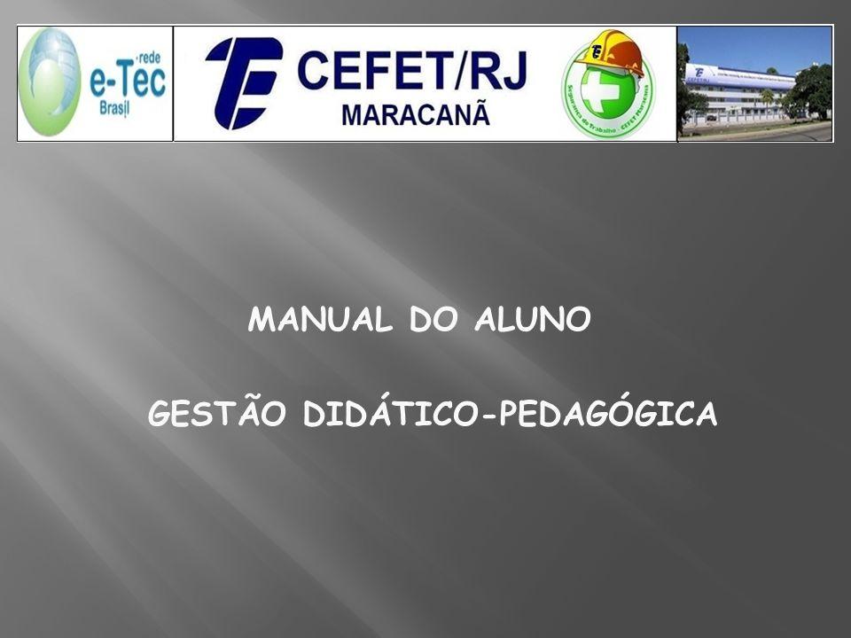 MANUAL DO ALUNO GESTÃO DIDÁTICO-PEDAGÓGICA