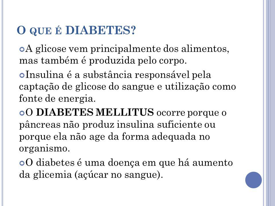 Em caso de suspeita de hipoglicemia ( atenção para os sintomas!), ingerir um alimento rico em carboidratos simples, como um suco.