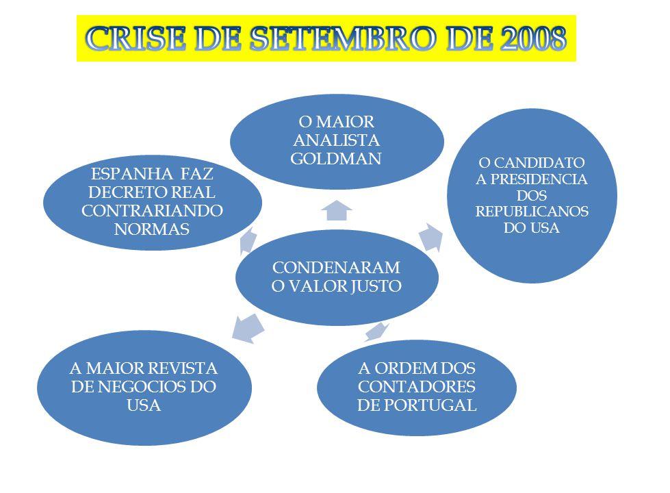 CONDENARAM O VALOR JUSTO O MAIOR ANALISTA GOLDMAN O CANDIDATO A PRESIDENCIA DOS REPUBLICANOS DO USA A ORDEM DOS CONTADORES DE PORTUGAL A MAIOR REVISTA