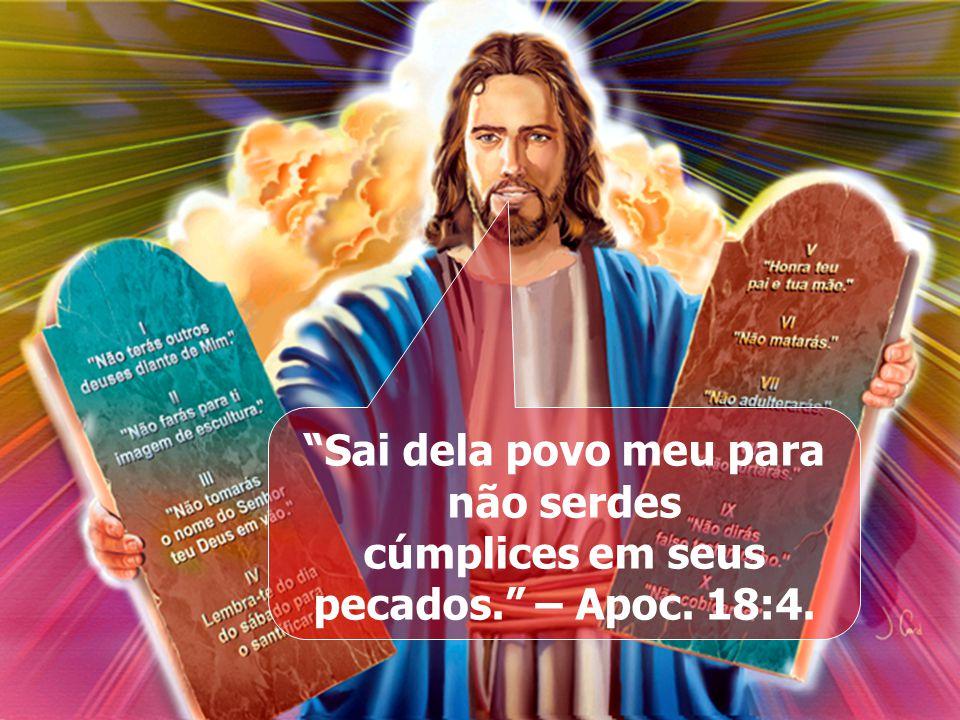 Aqui está a paciência dos santos; aqui estão os que guardam os manda-mentos de Deus e a fé em Jesus. Aqui está a paciência dos santos; aqui estão os q