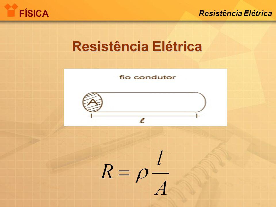 1 OHM É A RESISTÊNCIA QUE PERMITE A PASSAGEM DE 1 AMPÈRE QUANDO SUBMETIDA A TENSÃO DE 1 VOLT FÍSICA Resistência Elétrica