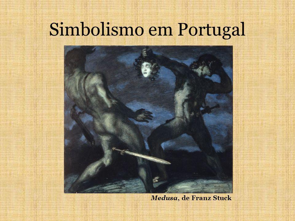 Simbolismo em Portugal Medusa, de Franz Stuck