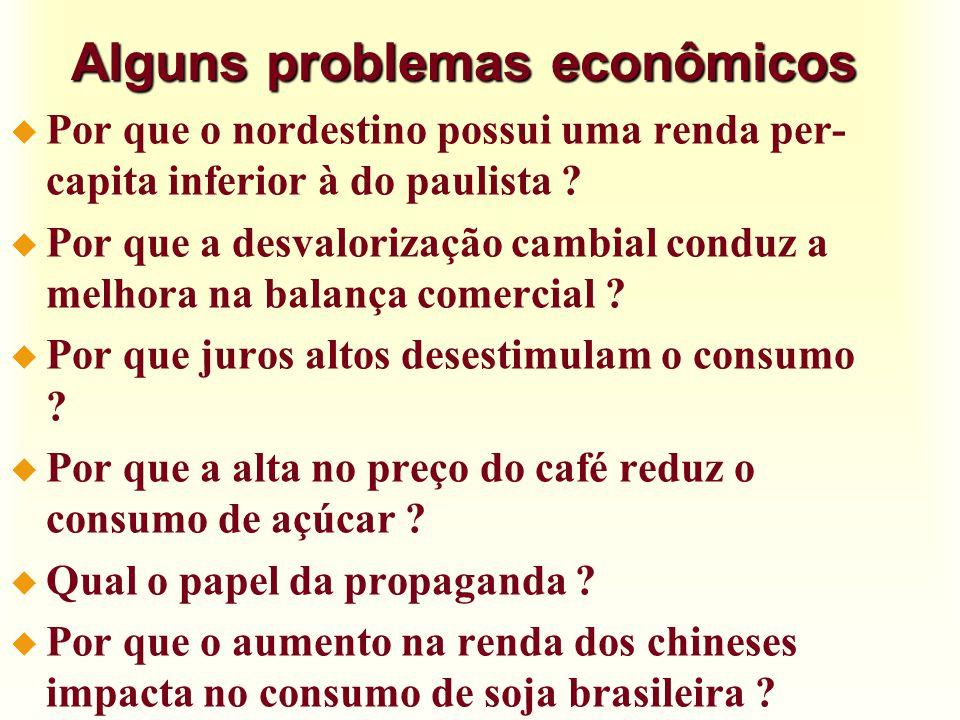 O sistema de preços u Economia livre x economia centralizada äNuma economia livre, de mercado, o preço é o grande sinalizador do que deve ser produzido.