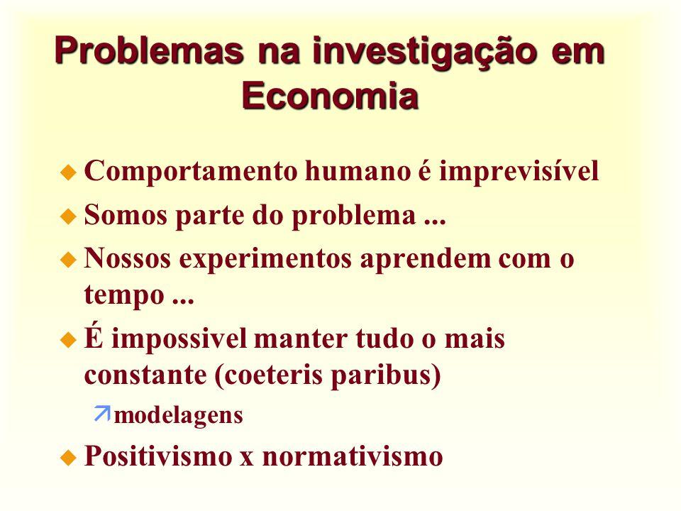 Inter-relação com outras ciencias u Economia e política u Economia e história u Economia e Sociologia u Economia, matemática e estatística äRazões äGráficos