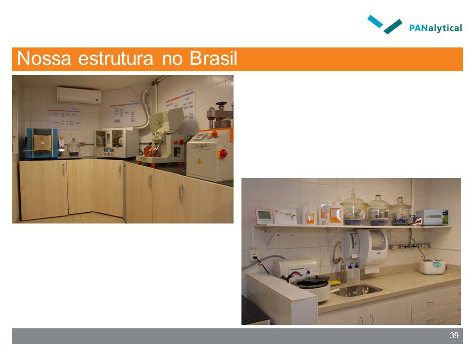 Nossa estrutura no Brasil 39
