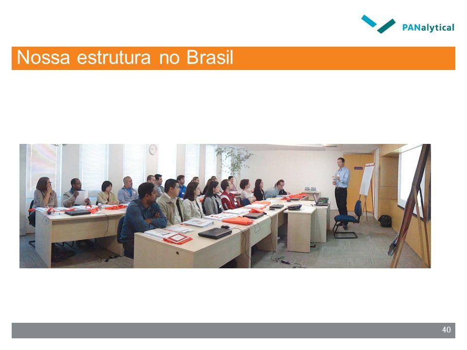 Nossa estrutura no Brasil 40