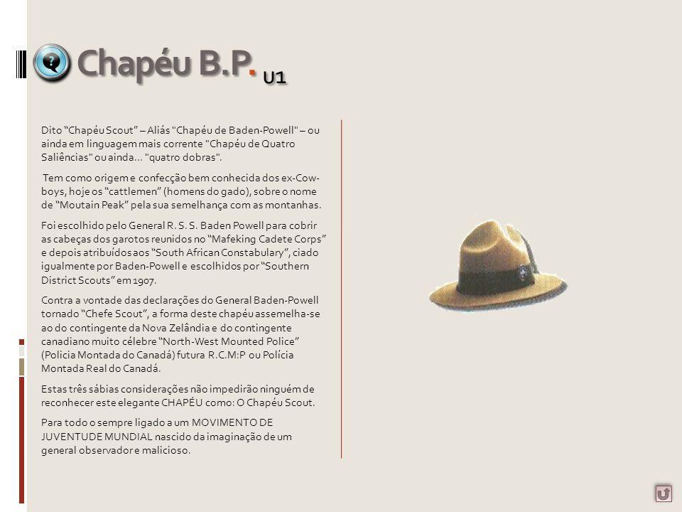 Dito Chapéu Scout – Aliás