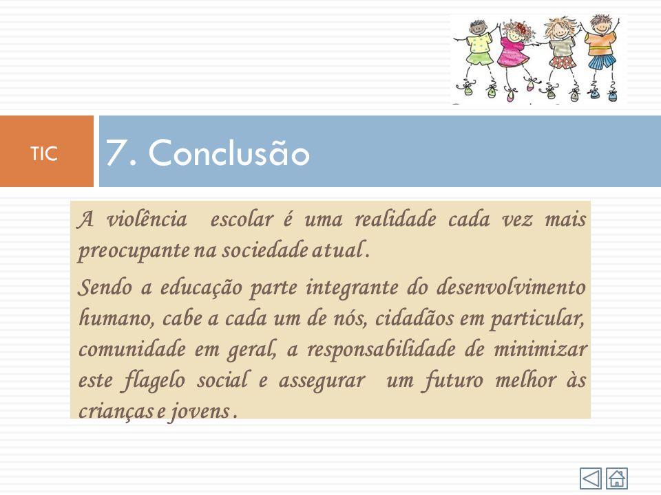Algumas das medidas contra a violência em meio escolar são: Realizar diagnósticos e pesquisas para conhecer melhor o problema na sua forma concreta; P